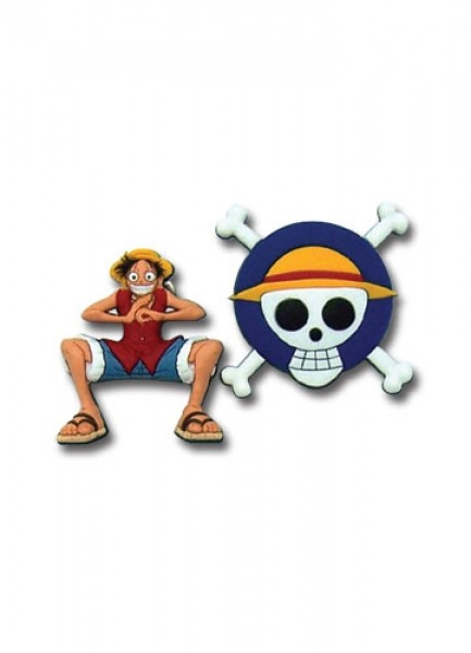 Pin Set Luffy & Flag