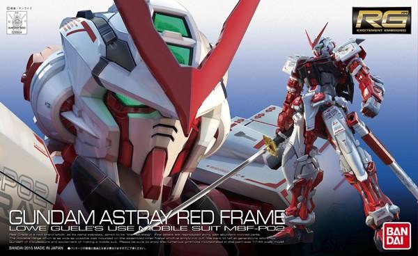 Gundam - RG Astray Red Frame 1/144