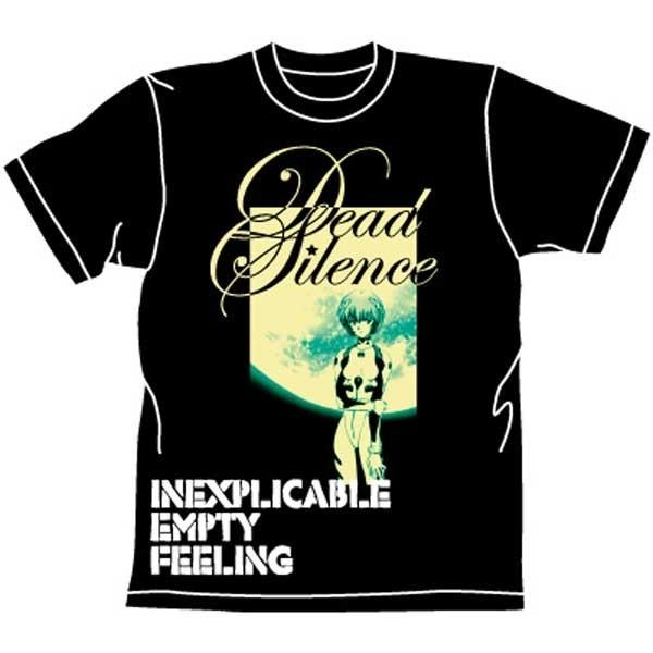 Neon Genesis Evangelion: T-Shirt Rei Death Silence Black
