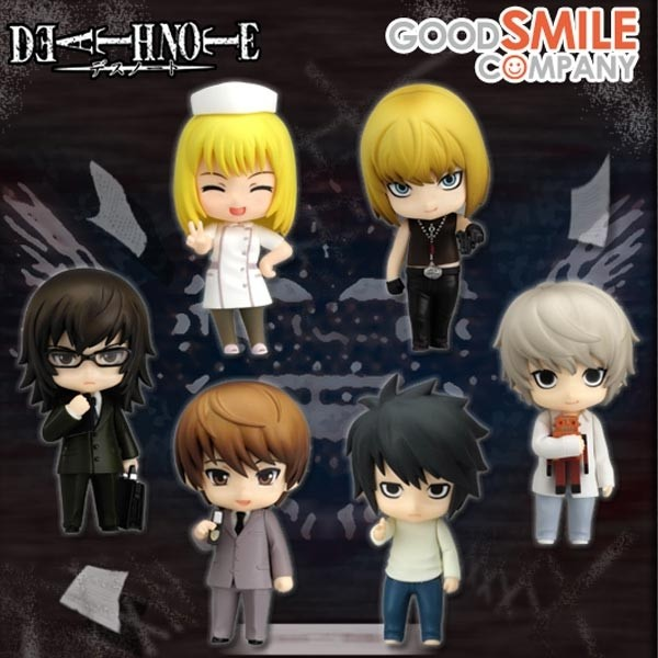 Death Note: Petit Nendoroid Case File #02 1 Box (12pcs)