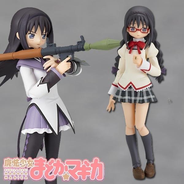 Puella Magi Madoka Magica: Homura Akemi School Uniform Ver. - Figma