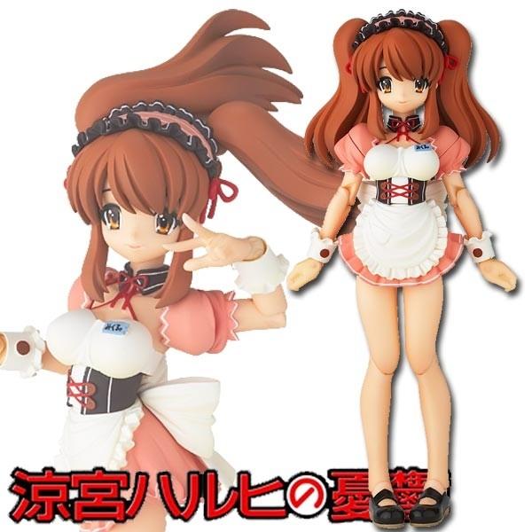Suzumiya Haruhi: School Festival Series 003 Mikuru Adventure ver. Revoltech Fraulein