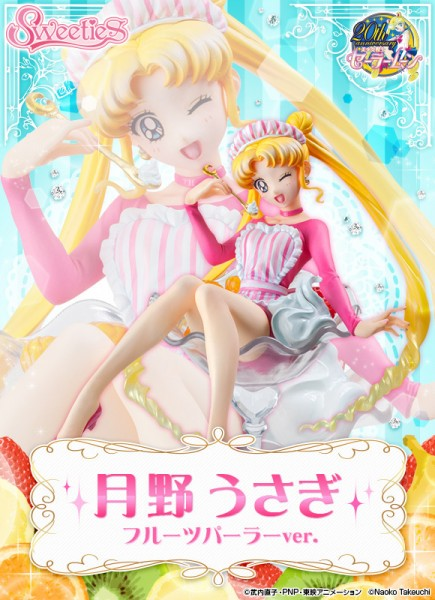 Sailor Moon: Usagi Tsukino Fruit Shop Ver.non Scale PVC Statue