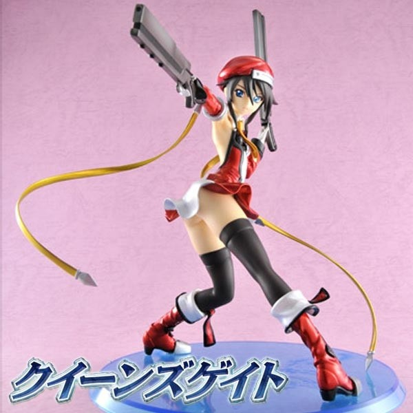 Queen's Gate: Noel Vermillion 2P Color Ver. 1/8 Scale PVC Statue