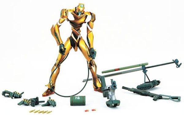 EVA Unit 00 Yellow Action Figur Lunch Tube