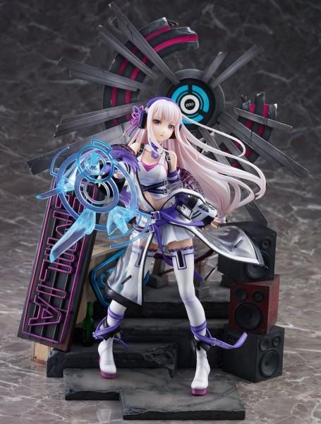 Re:ZERO -Starting Life in Another World: Emilia Neon City Ver. 1/7 Scale PVC Statue