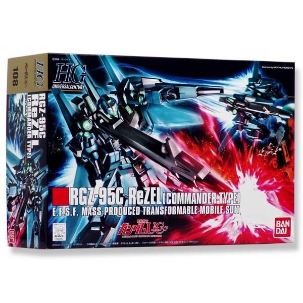 Gundam UC - RGZ-95 ReZEL Commander 1/144