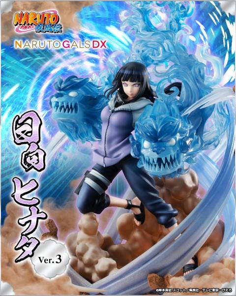 Naruto Gals: Hinata DX Ver. non Scale PVC Statue