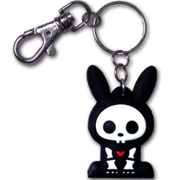 Skelanimals Keychain Jack the Rabbit