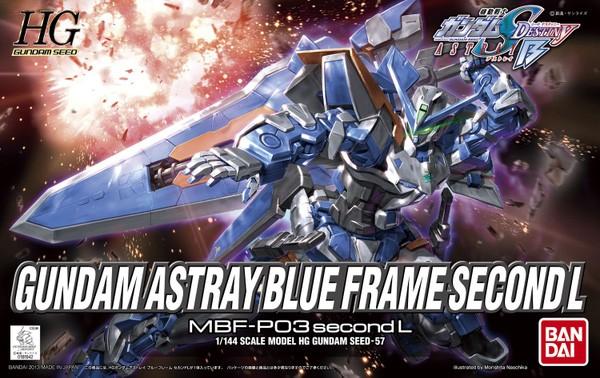 Gundam Seed Frame Astrays - HG Gundam Astray Blue Frame 2nd 1/144