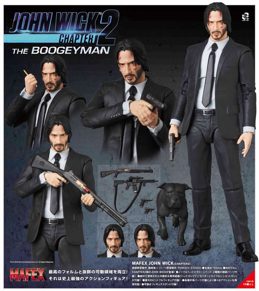 John Wick Chapter 2 MAF EX Actionfigur