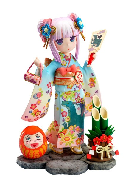 Miss Kobayashi´s Dragon Maid: Kanna Finest Kimono 17 Scale PVC Statue