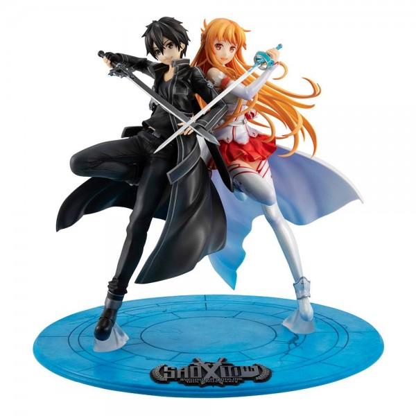 Sword Art Online: Lucrea Kirito & Asuna 10th Anniversary non Scale PVC Statue