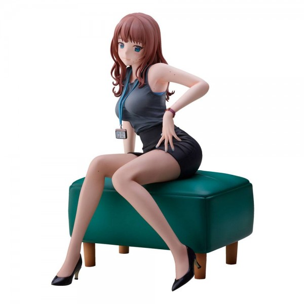 Original Character by Doshima: Office Lady With Many Moles non Scale PVC Statue