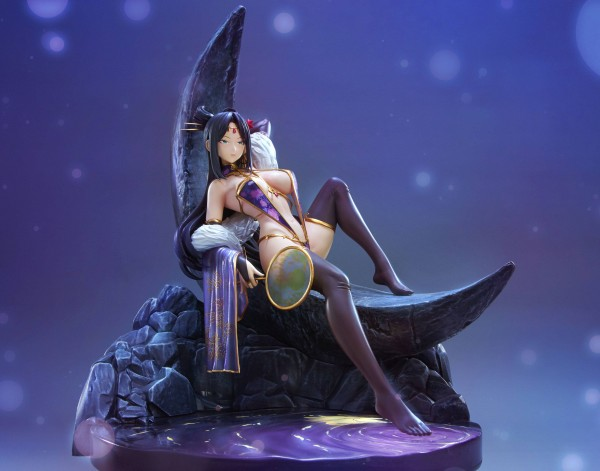 Original Character by Kei Mizuryu: Diaochan Chousen 1/7 Scale PVC Statue
