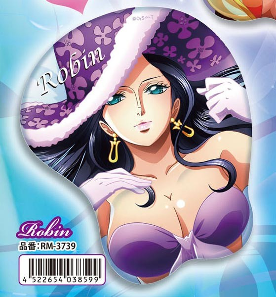 One Piece: 3D Mouse Pad Robin 15th Anniversary Ver.