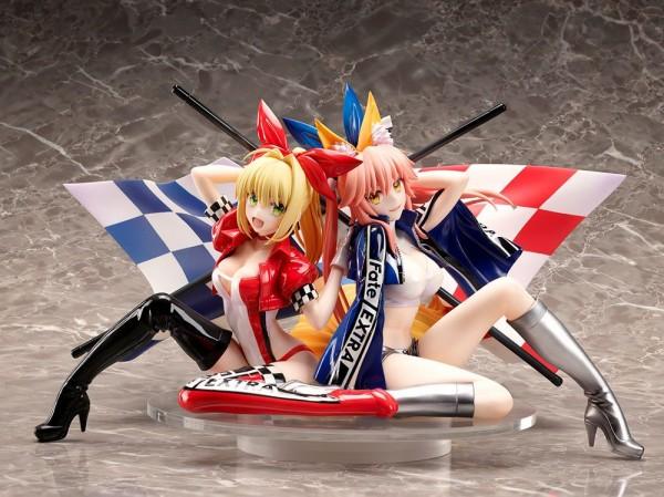 Fate/Extra: Nero Claudius & Tamamo No Mae Type-Moon Type-Moon Racing Ver 1/7 Scale PVC Statue