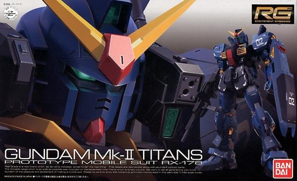 Gundam - RG RX-178 Gundam Mk-II Titans1/144