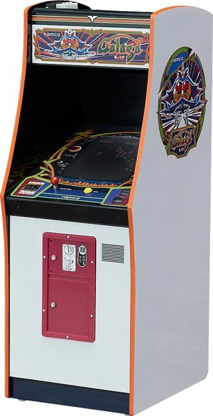 1/12 NAMCO Galaga Arcade Machine Collection Mini Replik