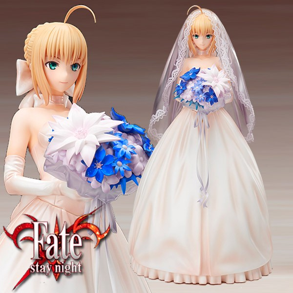 Fate/stay Night: Saber 10th Royal Dress 1/7 Scale PVC Statue
