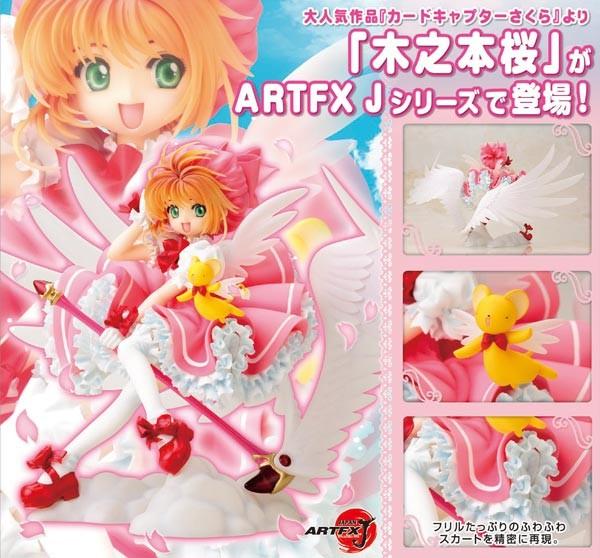 Cardcaptor Sakura: ARTFXJ Sakura Kinomoto 1/7 Scale PVC Statue