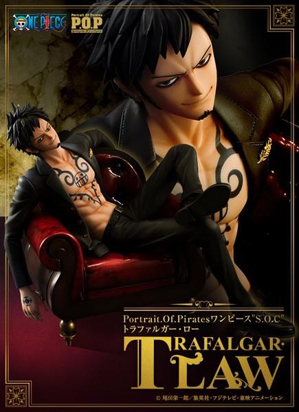One Piece: P.O.P. Trafalgar Law 1/10 Scale PVC Statue