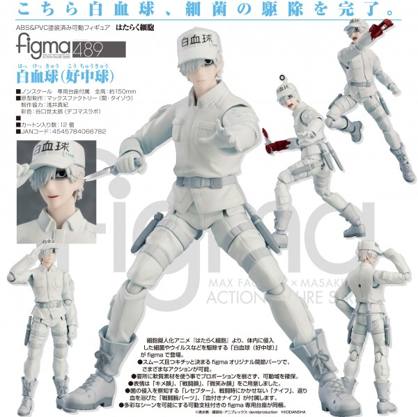 Cells at Work!: White Blood Cell Neutrophil - Figma