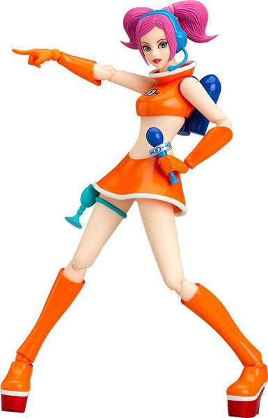 Space Channel 5: Ulala Cheery Exciting Orange Ver. Figma