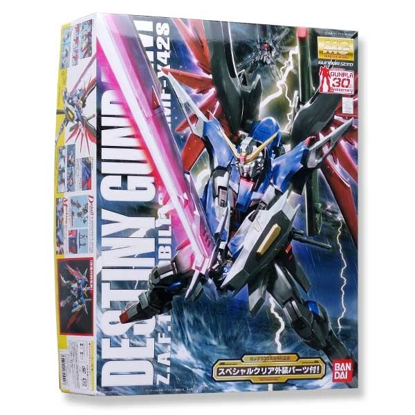 Gundam Seed - MG Destiny Gundam w/Special Clear Armor Parts 1/100