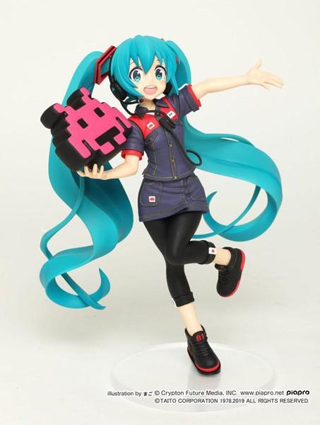 Vocaloid 2: Miku Hatsune Taito Uniform Ver. 2 non Scale PVC Statue