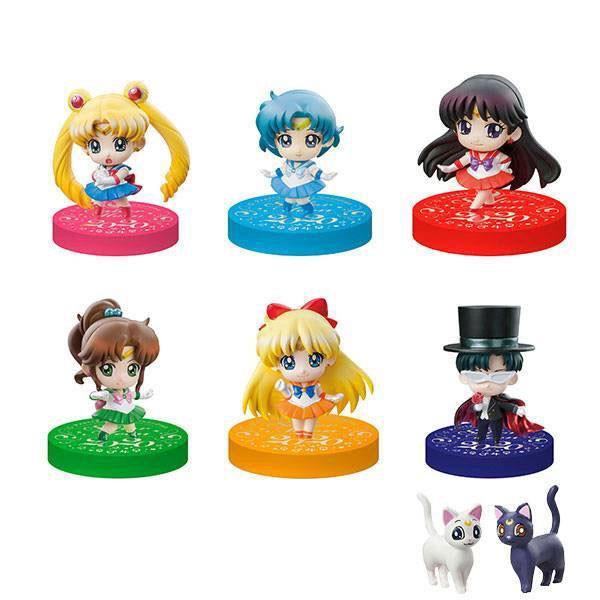 Sailor Moon: Petit Chara Puchitto Oshioki yo! 2020 Ver. Sammelfiguren Sortiment (6) Limited Set