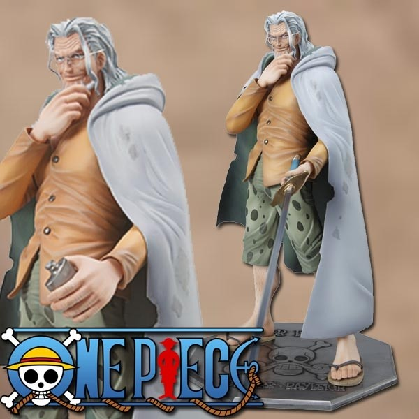 One Piece: P.O.P. Silvers Rayleigh 1/8 Scale PVC Statue