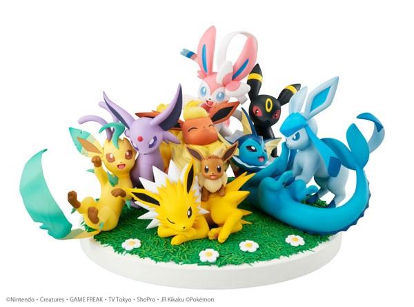Pokémon: Eevee Friends non Scale PVC Statue