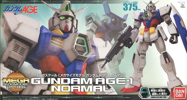 Gundam AGE - MEGA SIZE MODEL Gundam AGE-1 Normal 1/48