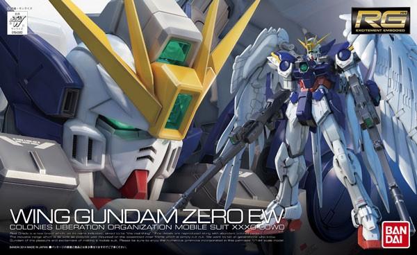 Gundam - RG Wing Gundam Zero EW 1/144