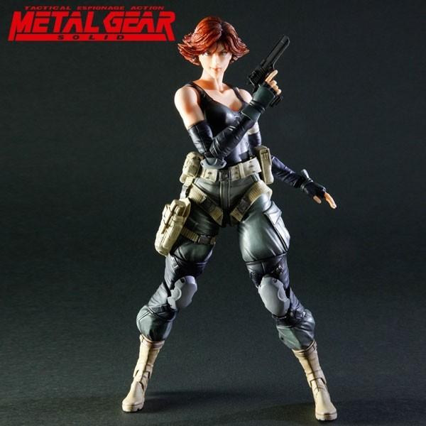 Metal Gear Solid: 25th Anniversary Play Arts Kai Meryl Silverburgh Action Figure