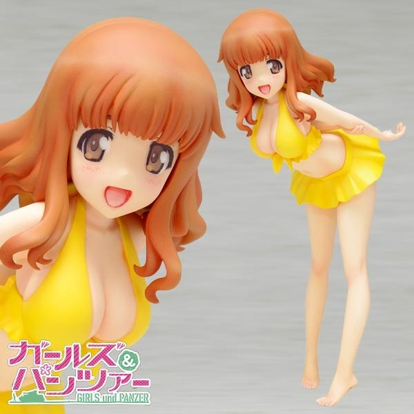 Girls und Panzer: Saori Takebe Swimsuit Ver. 1/10 Scale PVC Statue