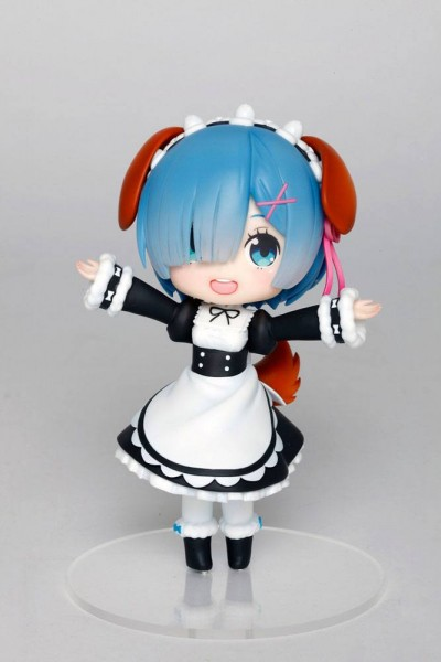 Re:ZERO -Starting Life in Another World: Rem Doll Crystal Dog Ears Ver. non Scale PVC Statue