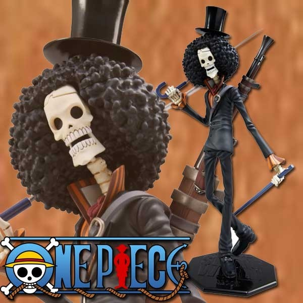 One Piece: P.O.P. Brook Strong Edition 1/8 Scale PVC Statue
