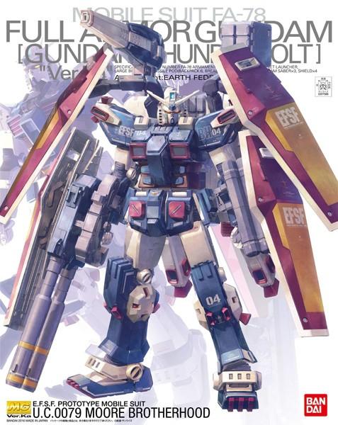 Gundam Thunderbolt - MG Full Armor Gundam Ver. Ka 1/100