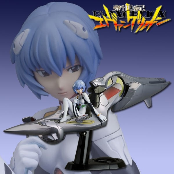 Evangelion 2.0: Rei Ayanami with Entry Plug PVC & ABS Figure