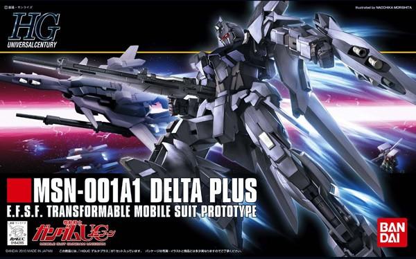 Gundam UC - HGUC 001A1 Delta Plus 1/144