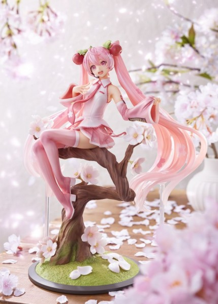 Vocaloid 2: Sakura Miku Cherry Blossom Fairy Ver. 1/7 Scale PVC Statue