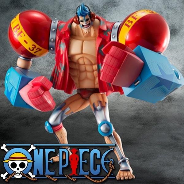 One Piece: P.O.P. SA-Maximum Armored Franky 1/8 Scale PVC Statue