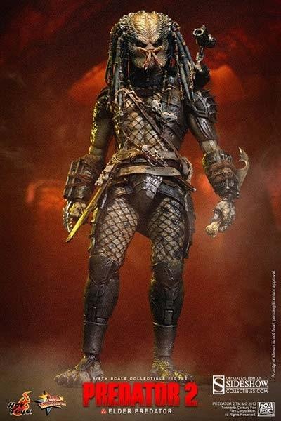Predator 2: Elder Predator Movie Masterpiece 1/6 Actionfigure