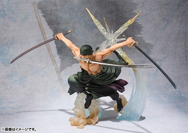 One Piece: Figuarts Zero Zoro Battle Ver. non Scale PVC Statue