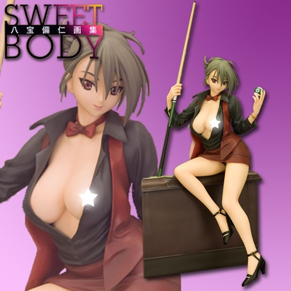 Sweet Body - Hustler Cardinal Red 1/7 Scale PVC Statue