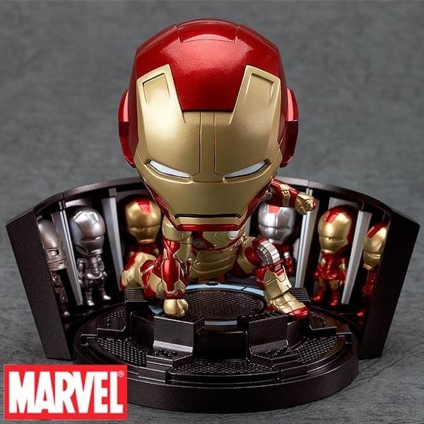 Marvel: Nendoroid Iron Man Mark 42 - Hero's Edition + Hall of Armor Set
