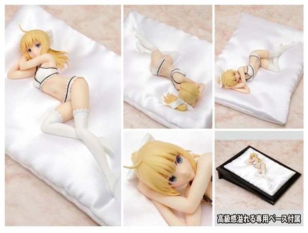 Fate/stay Night: Saber Lily Lingerie Style 1/8 Scale PVC Statue