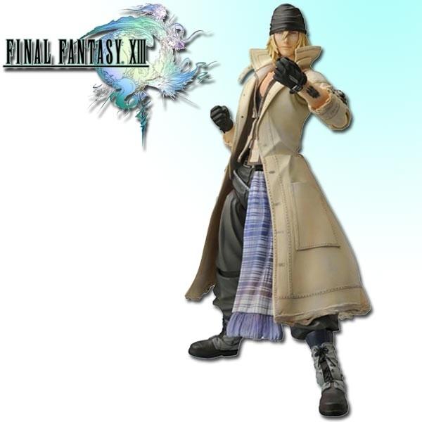Final Fantasy XIII - Play Arts [KAI] Snow